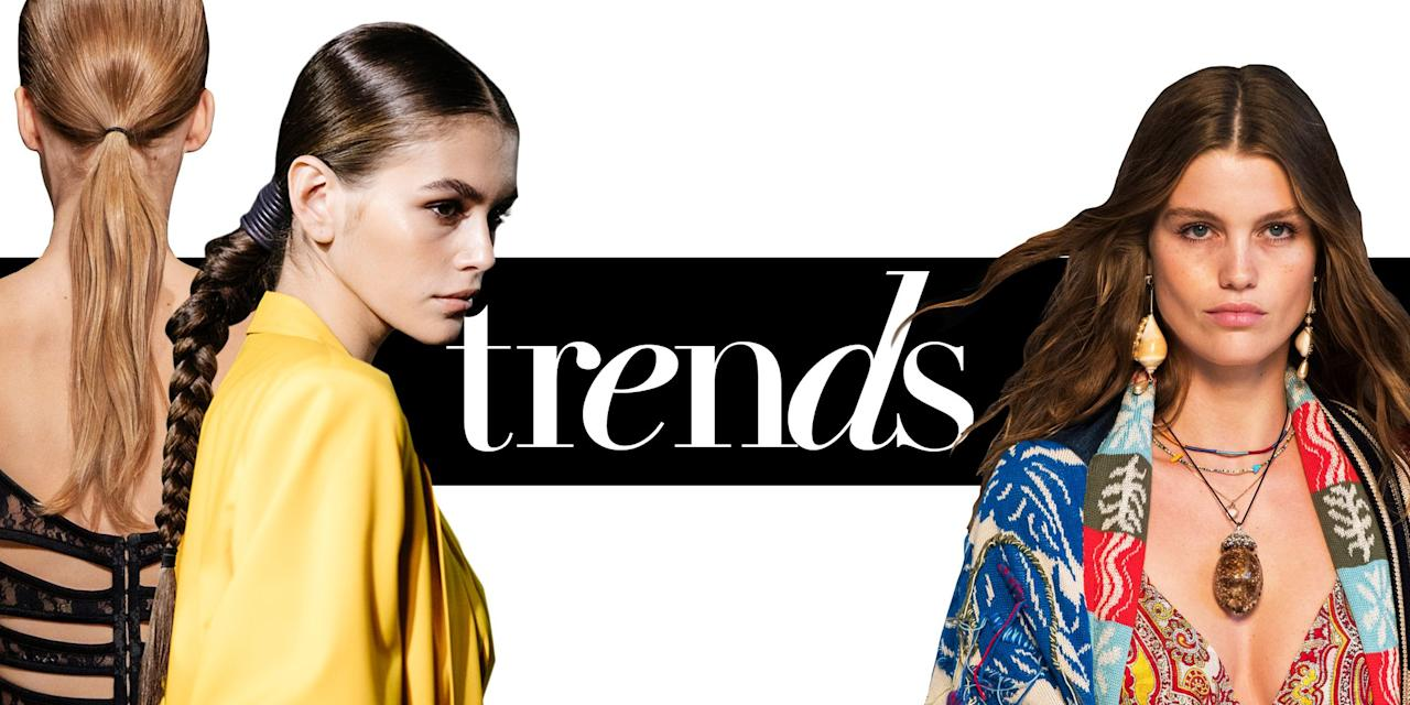 7 spring/summer 2019 hair trends to start wearing now