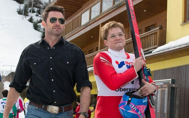 The Hollywood stars of Eddie The Eagle