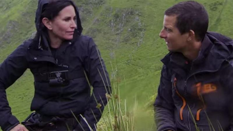 Court got candid with Bear Grylls.