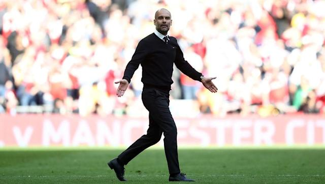 <p>So, Pep Guardiola is going to end a football season without one single trophy for the first time in his all-conquering career. He's actually on course to finish with a worse record than predecessor Manuel Pellegrini did last season.</p> <br><p>He bought in the wrong places last summer and has now fallen to an Arsenal side who everyone thought should have been swept aside, yet he's not really getting put under the pressure Jose Mourinho across the road was put under when Man Utd were looking wobbly.</p> <br><p>Is this progress, City fans?</p>