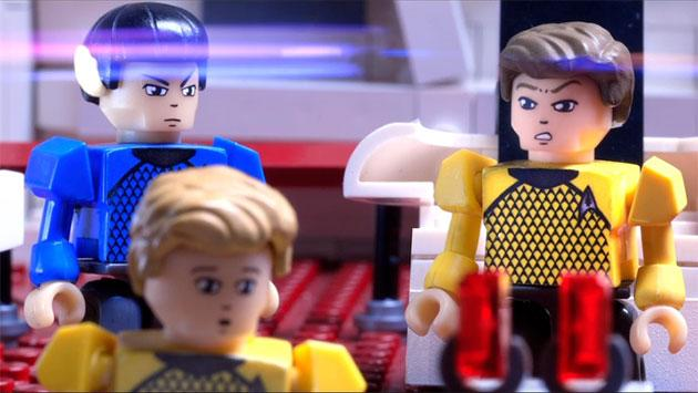 Kirk and Spock from the Kre-O building sets