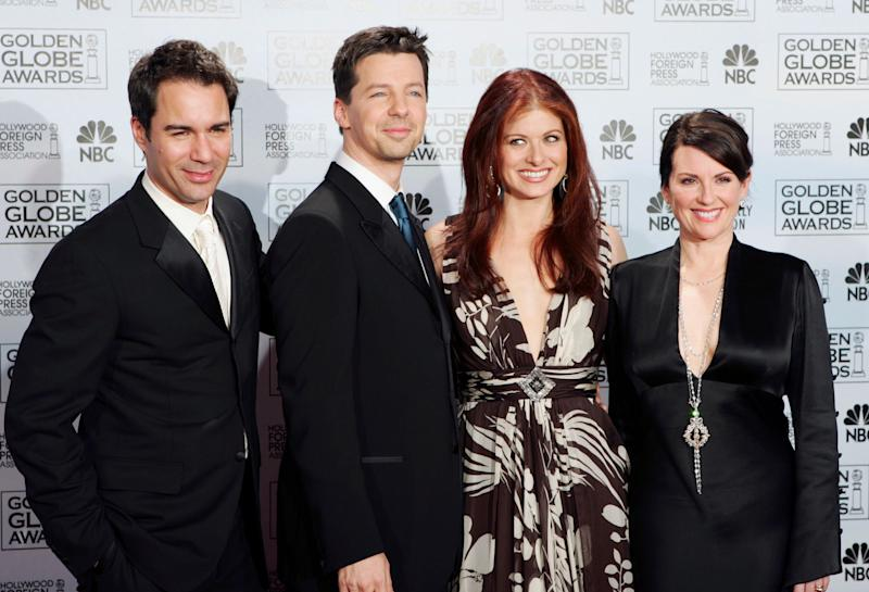 'Will & Grace' fue una de las series pioneras en mostrar la diversidad sexual. Foto: AP Photo/Reed Saxon, File