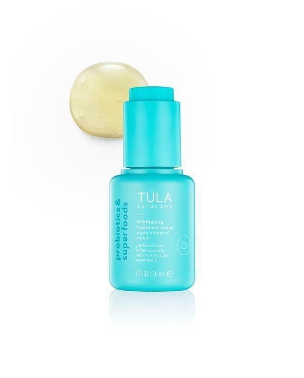 <p>Tula's <span>Brightening Treatment Drops</span> ($48) help clear dark spots and fight against dullness. It's perfect for all skin types.</p>