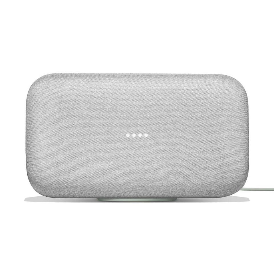 """<p><strong>Google Home</strong></p><p>goop.com</p><p><strong>$299.00</strong></p><p><a href=""""https://shop.goop.com/shop/products/google-home-max?taxon_id=595&country=USA"""" rel=""""nofollow noopener"""" target=""""_blank"""" data-ylk=""""slk:SHOP NOW"""" class=""""link rapid-noclick-resp"""">SHOP NOW</a></p><p>Give the gift of a personal DJ or assistant—on call 24/7.</p>"""