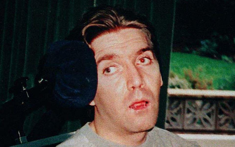 Andrew Devine, pictured in 1996, died on Tuesday aged 55 - PA