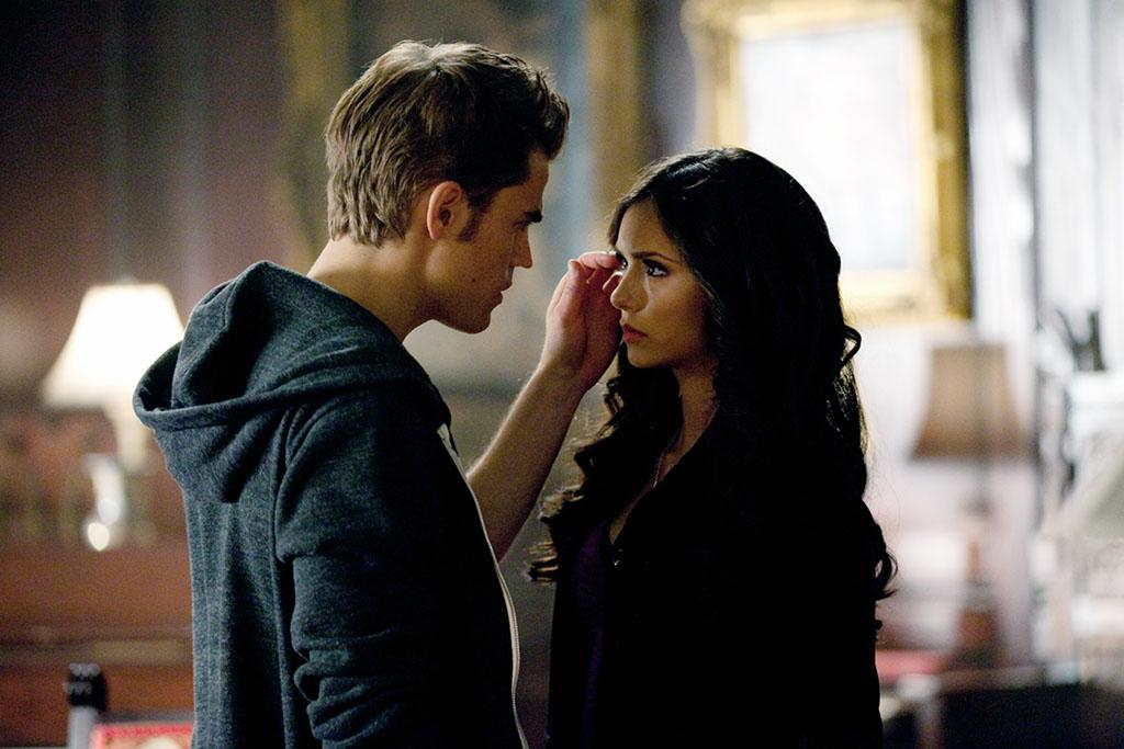 "Elena and Stefan, ""Vampire Diaries"""