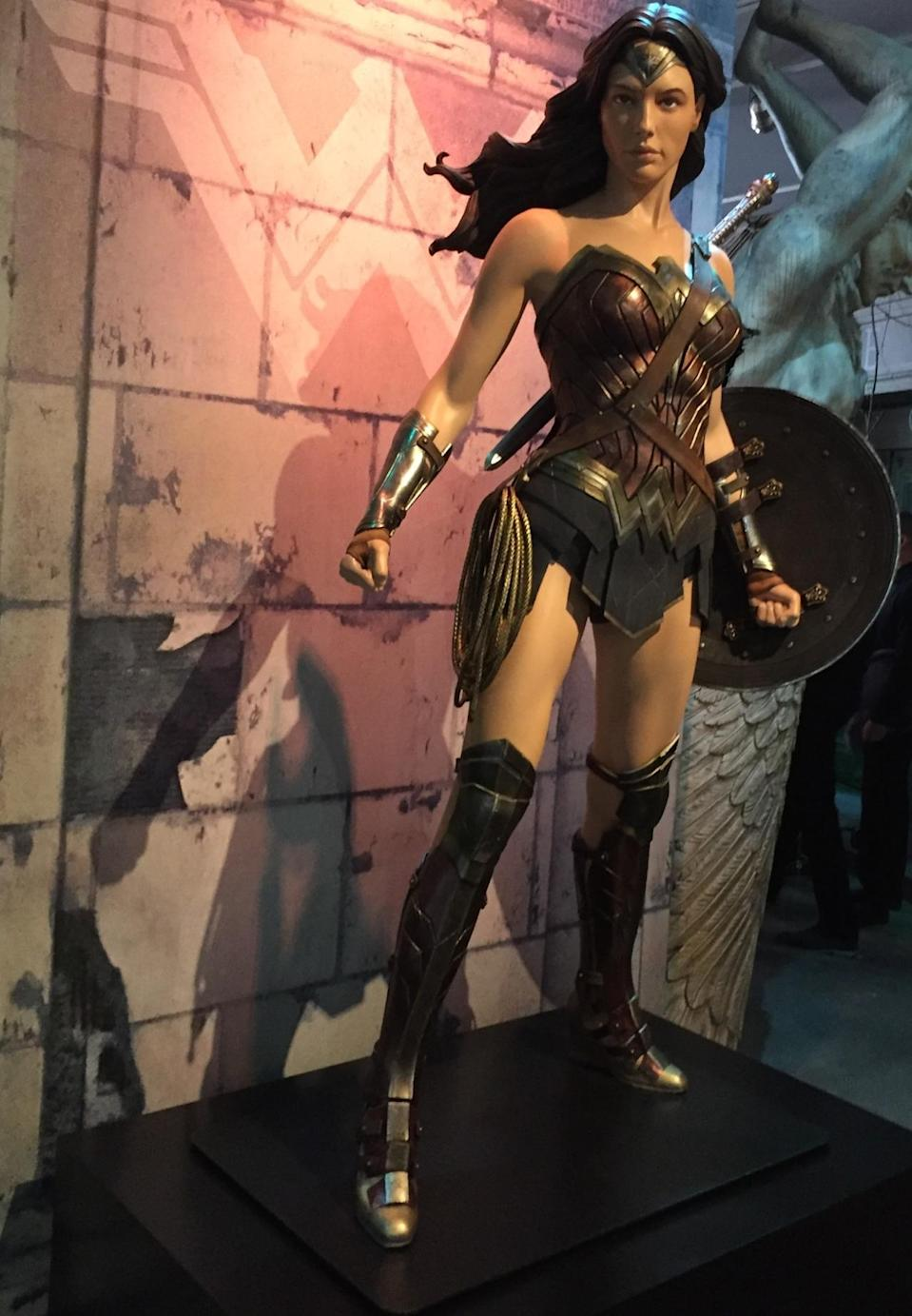 <p>Gal Gadot's Amazonian princess is ready for battle.</p>