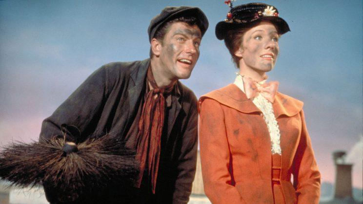 Sorry... Van Dyke offers an official apology for his accent in Mary Poppins - Credit: Disney