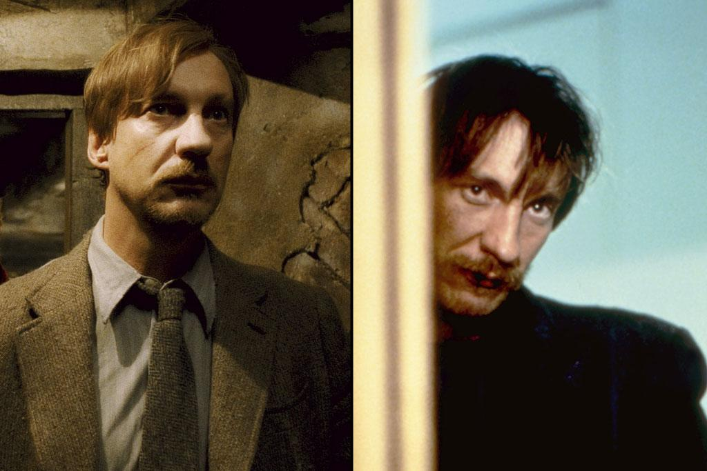 "Actor: <a href=""http://movies.yahoo.com/movie/contributor/1800018709"">David Thewlis</a>  ""Harry Potter"" Role: Remus Lupin    David Thewlis was a relative unknown until he starred in Mike Leigh's bleak drama ""<a href=""http://movies.yahoo.com/movie/1800202080/info"">Naked</a>,"" which won him an acting prize at the 1993 Cannes Film Festival. He went on to star opposite Brad Pitt in ""<a href=""http://movies.yahoo.com/movie/1800299230/info"">Seven Years in Tibet</a>,"" which got him banned from entering China. You can see him this year in Steven Spielberg's ""<a href=""http://movies.yahoo.com/movie/1810159454/info"">War Horse</a>."""