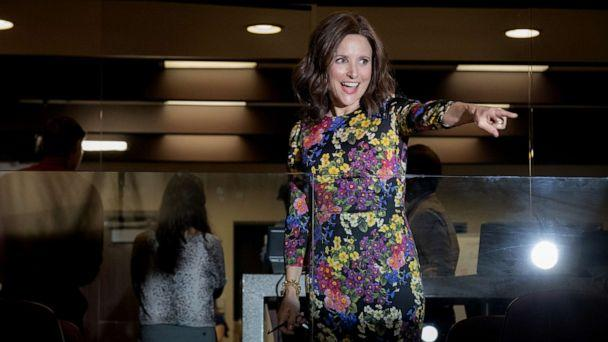 PHOTO: Julia Louis-Dreyfus in a scene from 'Veep. (Colleen Hayes/HBO)
