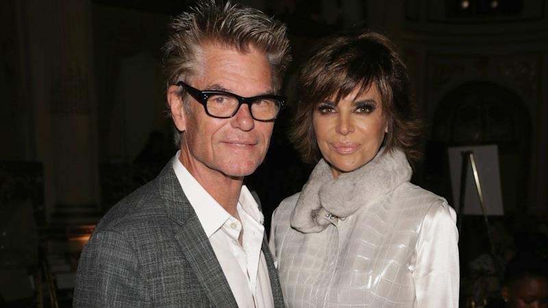 Lisa Rinna's Husband Harry Hamlin Says He Keeps His 'Divorce Lawyer on Speed Dial'