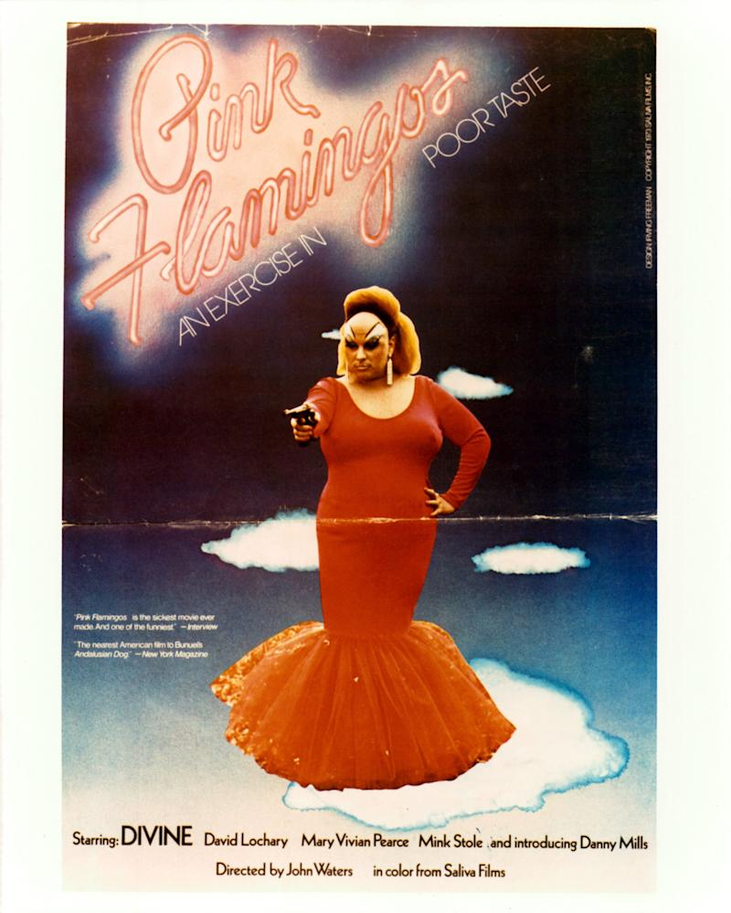 """It follows that John Waters, King of Camp, once made a movie called """"Pink Flamingos,"""" in which the legendary drag queen Divine, who would inspire the character of Ursula in """"The Little Mermaid,"""" gives a masterclass in camp. The dress itself is """"an exercise in poor taste."""" It's perfect."""