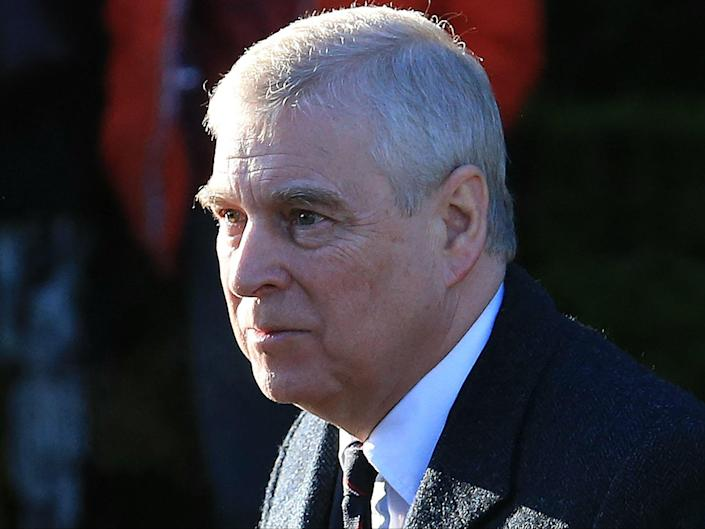 Prince Andrew has accepted service of a US sexual assault lawsuit (AFP via Getty Images)