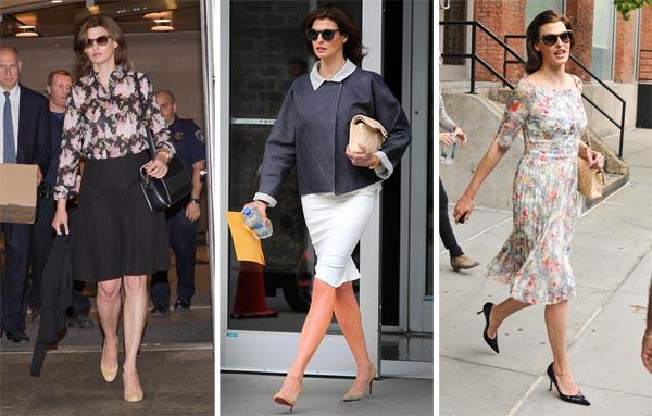 Supermodel Linda Evangelista's Courtroom-Perfect Outfits