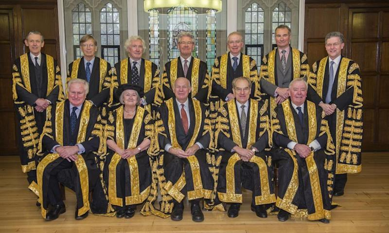 The UK's supreme court judges