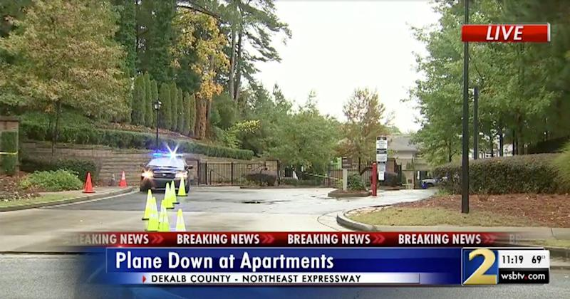2 People Killed After Plane Crashes Into Atlanta Apartment Complex