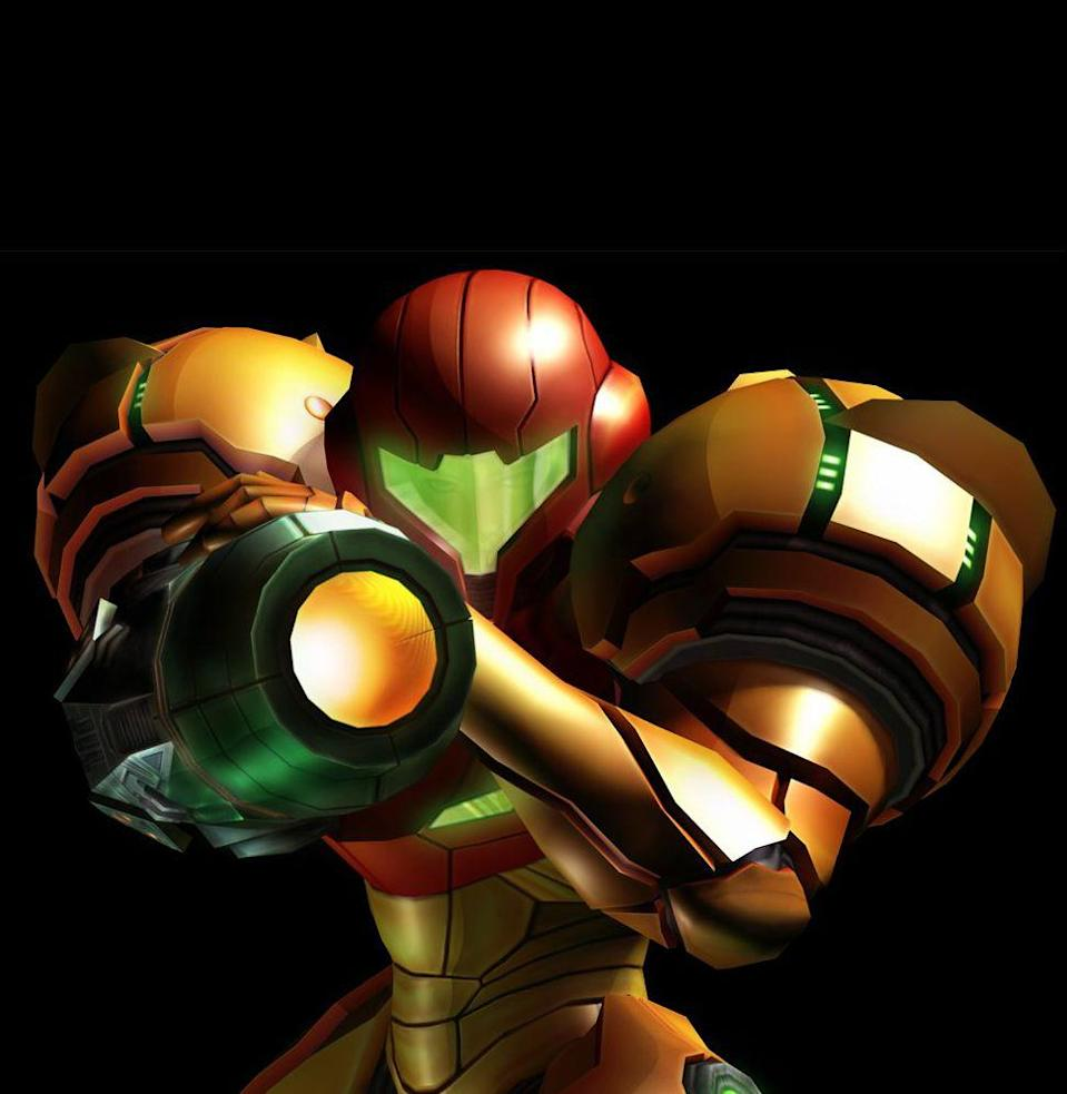 """<p>Samus Aran deserves a spot for <a href=""""https://goat.com.au/entertainment/never-forget-when-every-gamer-thought-samus-aran-metroid-was-a-dude-until-the-very-end/"""" rel=""""nofollow noopener"""" target=""""_blank"""" data-ylk=""""slk:this moment"""" class=""""link rapid-noclick-resp"""">this moment</a> alone: the end of 1986's <em>Metroid</em>, when the power-suited hero took off her helmet, making every bro wail, """"It's a girl!"""" midway into a face full of Doritos. Samus kicked ass when gaming's only female characters were the Princess Peaches of the world. Since then, the <em>Metroid</em> franchise has told a complex, standout story that has turned Samus into one of the most influential video game heroes of all time. <em>—B.L.</em></p>"""