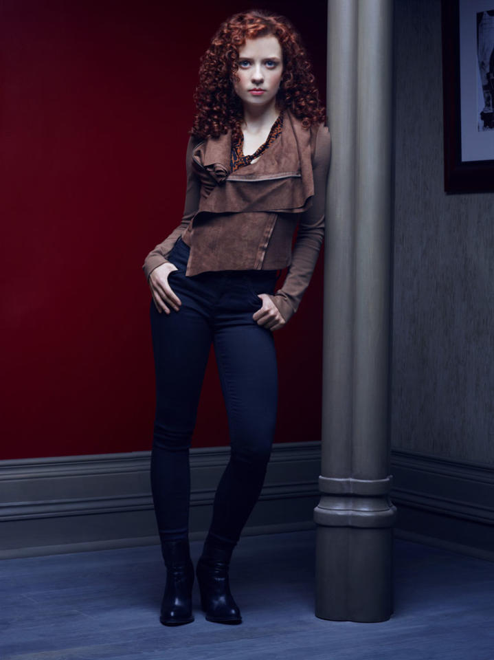 "Lara Jean Chorostecki as Freddie Lounds in ""Hannibal"" on NBC."