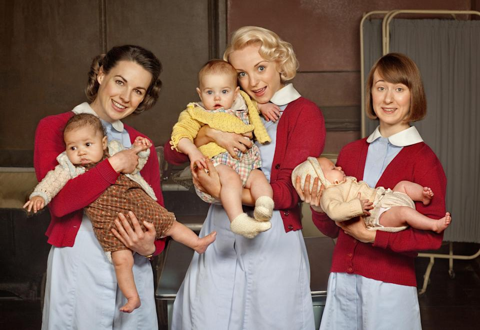 Call The Midwife has been a surprise hit, pulling in millions of viewersBBC/Neal Street Productions/Laurence Cendrowicz