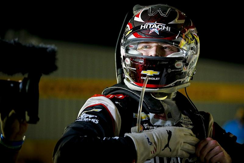 Newgarden wins from pole at Iowa