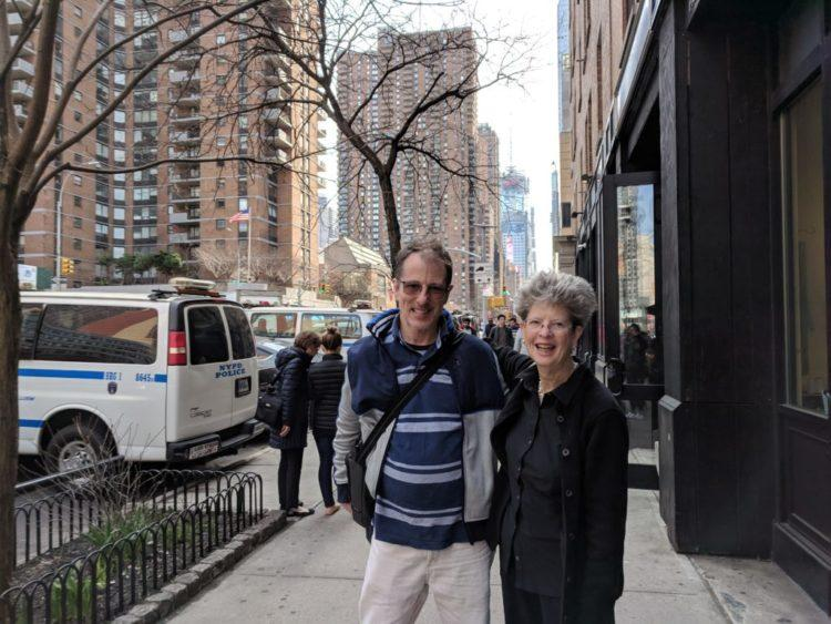 bruce ballard and laura kennedy gould in manhattan