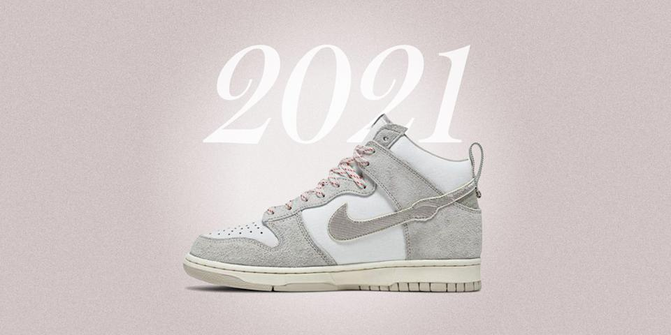 """<p class=""""body-dropcap"""">No matter how you slice it, 2020 was a truly miserable year. Silver linings of any sort were few and far between. If you're a diehard sneaker devotee, what little consolation there was to be had could probably be found in the release of some of the most talked about <a href=""""https://www.esquire.com/style/mens-fashion/g30690630/coolest-best-sneakers-2020/"""" rel=""""nofollow noopener"""" target=""""_blank"""" data-ylk=""""slk:sneakers"""" class=""""link rapid-noclick-resp"""">sneakers</a> in recent memory (though even today, actually getting your hands on any of them remains an entirely different story). </p><p class=""""body-text"""">As per usual, the most coveted styles hardly saw the widest releases—on the contrary. In fact, depending on your disposition and/or your luck gaming the SNKRS app, the unrelenting churn of the sneaker release cycle might've been but one of many—albeit <em>slightly</em> less pressing—factors that contributed to the general sense of malaise that defined the year. Stacking up Ls week after week hurts, regardless of how numb to the sensation you think you've become. </p><p>This year, all that changes. Because a January that's already included a show-stopping Inauguration Day <a href=""""https://www.esquire.com/style/mens-fashion/a35268997/dior-air-jordan-1-nikolas-ajagu-biden-harris-inauguration/"""" rel=""""nofollow noopener"""" target=""""_blank"""" data-ylk=""""slk:cameo"""" class=""""link rapid-noclick-resp"""">cameo</a> from a certain pair of ultra-rare Jordans means the coming months are shaping up to be way better than the last, for sneaker enthusiasts and those who wouldn't know a """"Chunky Dunky"""" from an, uh, actual tub of Chunky Monkey. <br></p><p>So yes, the year is young. You got me. And yet! Hope springs eternal, even for a sneakerhead. 2021 is off to a rip-roaring start, and here's all the sweetest sneakers we've seen so far. In the immortal words of one Kimberly Guilfoyle: THE BEST IS YET TO COME! (We can totally joke about that now, right?)</p>"""