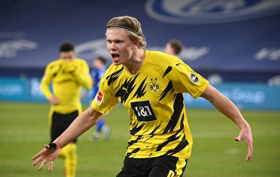 <p>Erling Haaland has been excellent this season for Borussia Dortmund</p> (Getty)