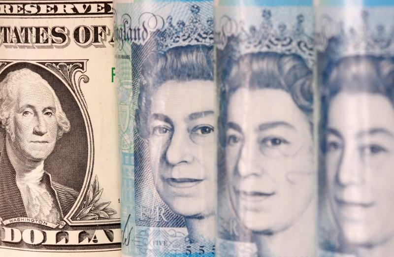 Battered sterling wins a respite for time being