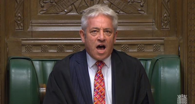 Speaker John Bercow calls the house to order in the House of Commons, London, after judges at the Supreme Court ruled that Prime Minister Boris Johnson's advice to the Queen to suspend Parliament for five weeks was unlawful.