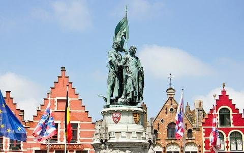 The double statue of Pieter de Coninck and Jan Breydel - Credit: Reddiplomat/Gogosvm