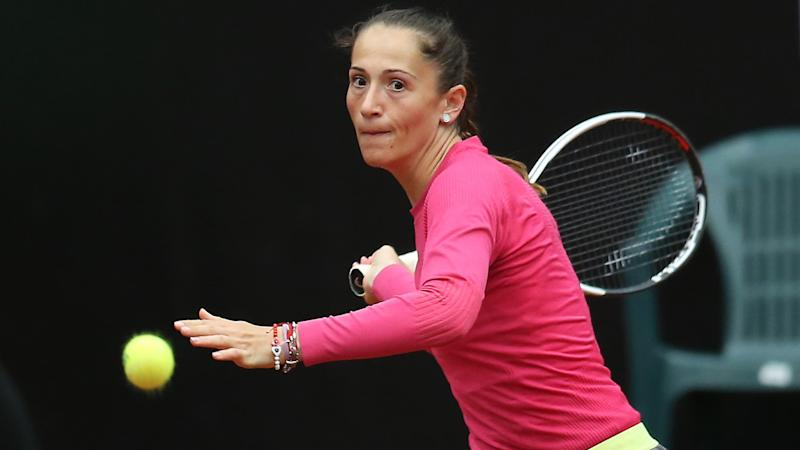 Alexandra Cadantu, pictured here in action at the Istanbul Cup in 2017.