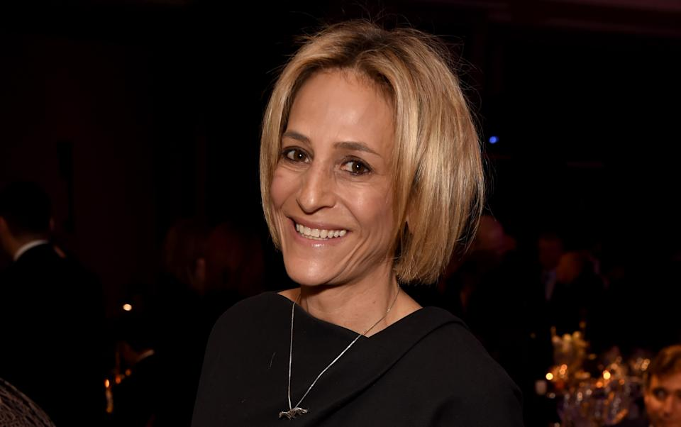 Emily Maitlis is facing another rebuke from the BBC after defending her Dominic Cummings monologue. (Getty Images)