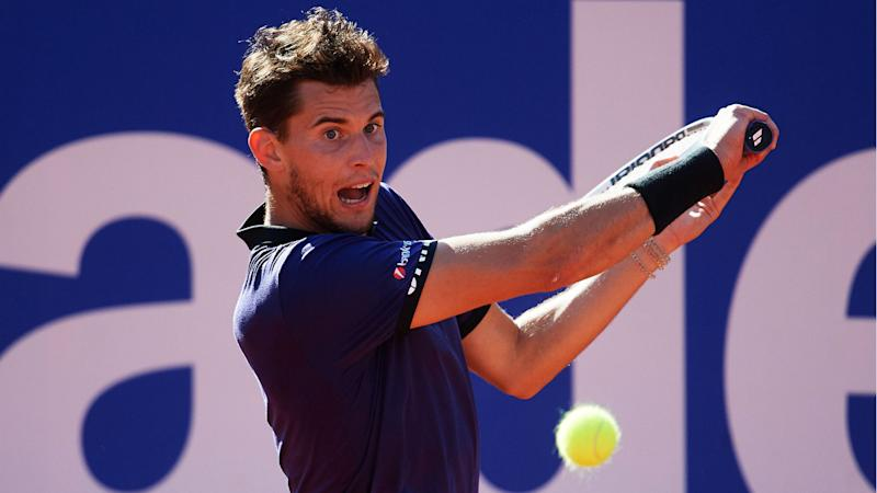 Thiem beats Medvedev in straight sets to win Barcelona Open
