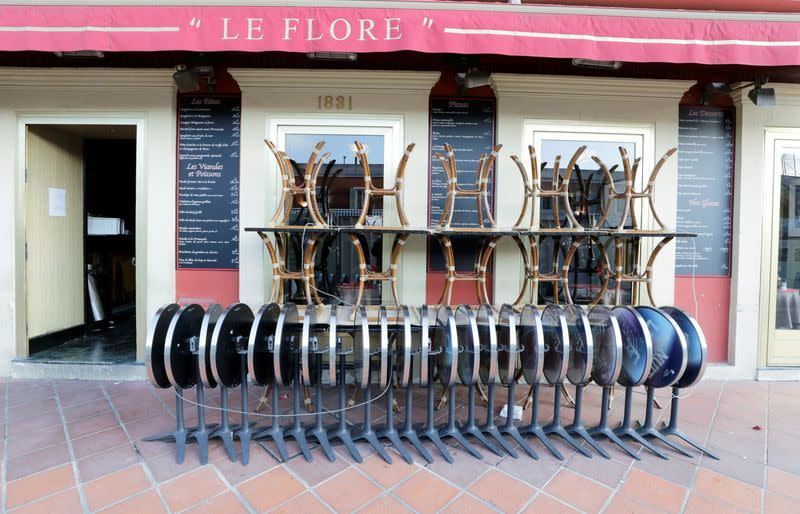 France's cafes opened through the war, but not the coronavirus