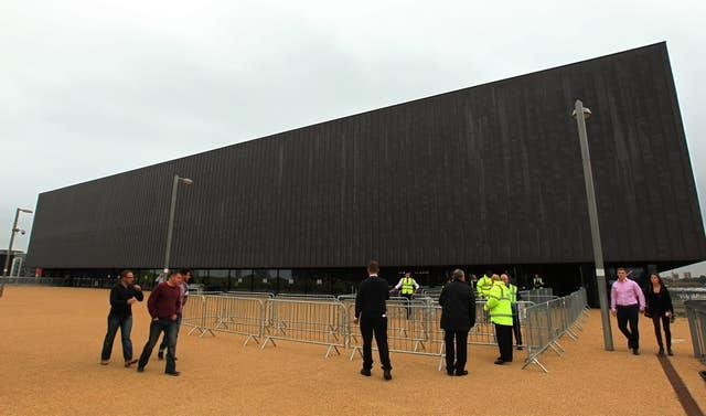 A general view of the Copper Box Arena, London.