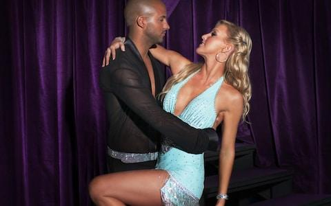 Ricky Whittle and Natalie Lowe - Credit: BBC