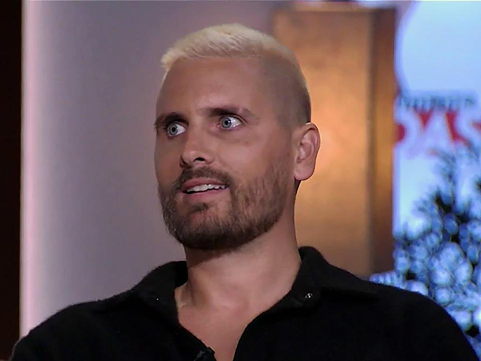 Scott Disick in the 'Keeping Up with the Kardashians' reunion special (E!)
