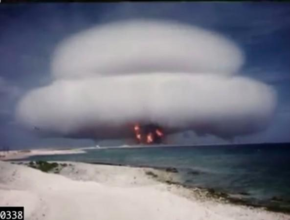 declassified, secretive nuclear tests, Bill Clinton, US, atmosphere,