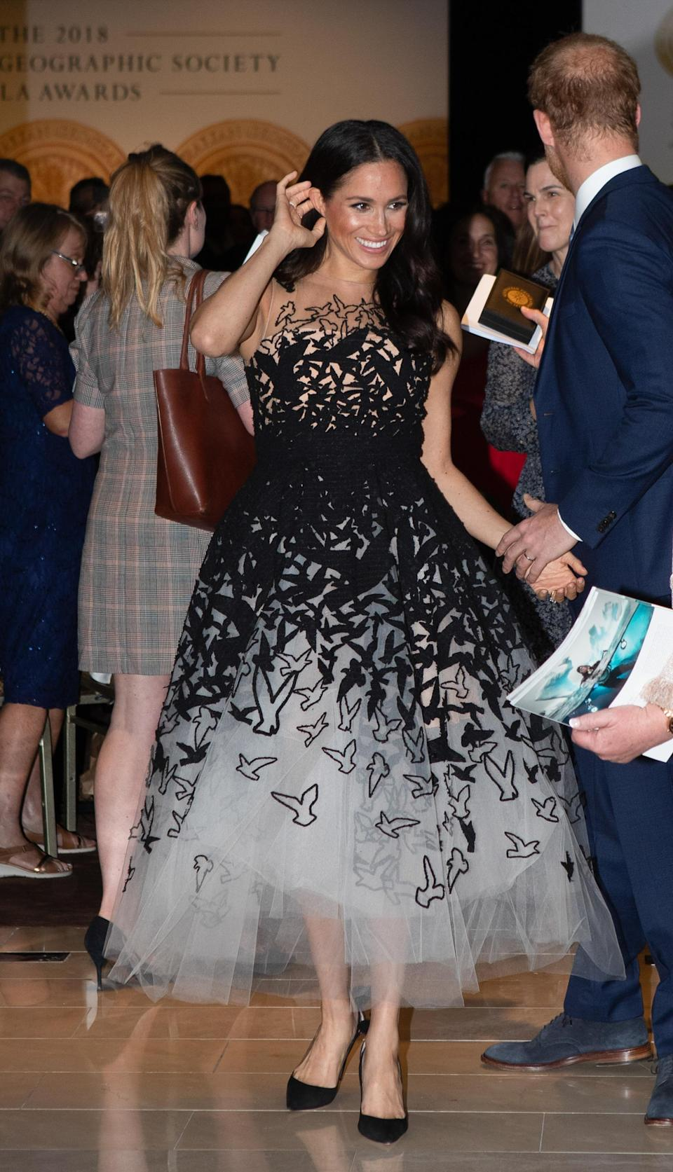 According to a source inside the palace, Meghan is being told 'she needs to start dressing less like a Hollywood star and more like a Royal'. Photo: Getty Images