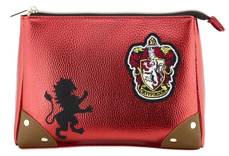 Cosmetic Purse, £10Available in Slytherin, Griffindor, Hufflepuff and Ravenclaw