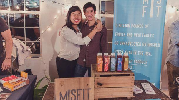 PHOTO: ABC News' Robin Roberts interviewed the creators of Misfit Juicery as part of her 'Taking Care of Business' series, which highlights companies that give back to their communities. (Courtesy Misfit Juicery)