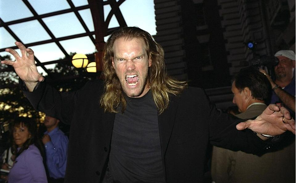 <p>The former professional wrestler played supervillain Sabretooth. <i>(Photo: Richard Corkery/Getty Images)</i></p>
