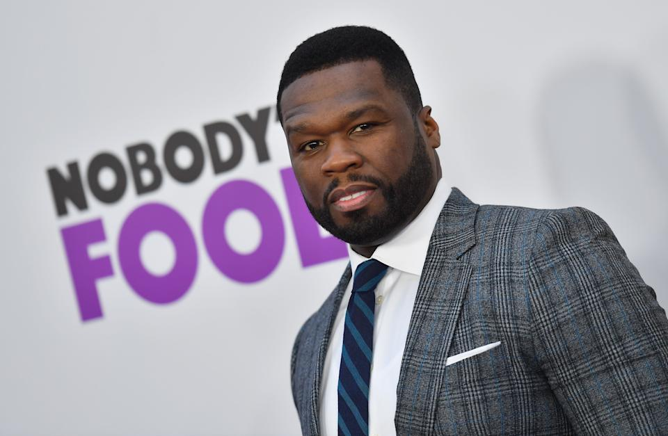 US rapper 50 Cent attends the New York premiere of