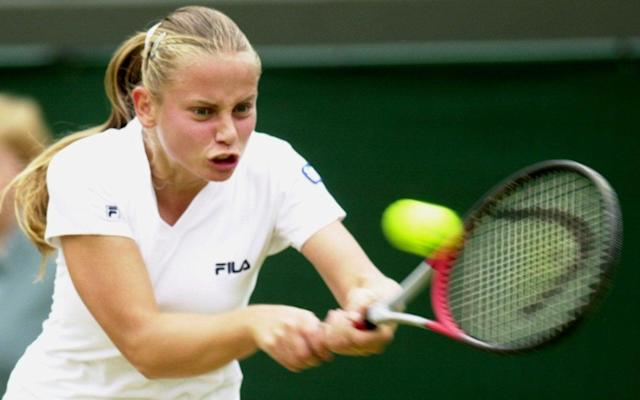 Jelena Dokic got to the Wimbledon semi-finals in 2000 aged 17 - THE TELEGRAPH