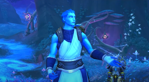"""<span class=""""caption"""">Pelagos is one of the first trans characters in World of Warcraft.</span> <span class=""""attribution""""><a class=""""link rapid-noclick-resp"""" href=""""https://www.youtube.com/watch?v=Z6ygWju1iRw&ab_channel=IrreverenceGaming"""" rel=""""nofollow noopener"""" target=""""_blank"""" data-ylk=""""slk:World of Warcraft"""">World of Warcraft</a></span>"""