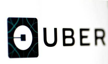 The Uber logo is seen on a screen in Singapore August 4, 2017. REUTERS/Thomas White