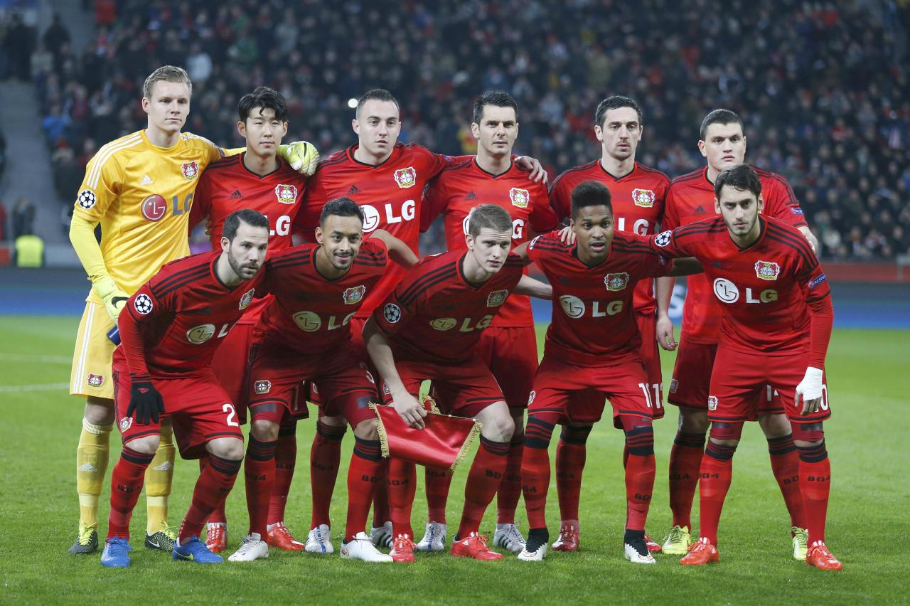 Bayer Leverkusen Champions League