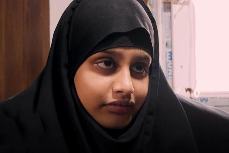 <p>Shamima Begum speaking to Sky News in February 2019</p>Sky News