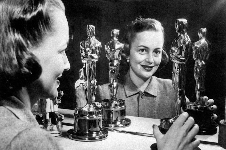 <p>Olivia de Havilland added a second Best Actress Oscar to her mantel after winning for her role as Catherine Sloper in <em>The Heiress</em>.</p>