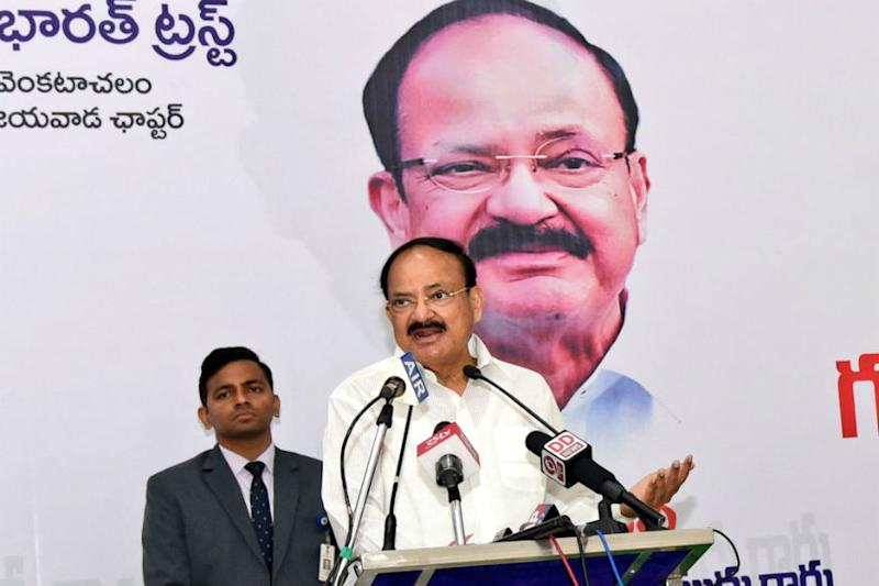 V-P Venkaiah Naidu Recalls Mahatma Gandhi's Suggestion to Disband Congress After Independence